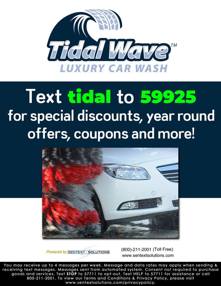 Tidal Wave Text Promo